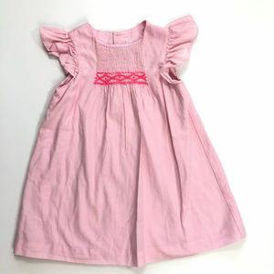 Jacadi Paris 18-24 Months Pink Smocked Dress